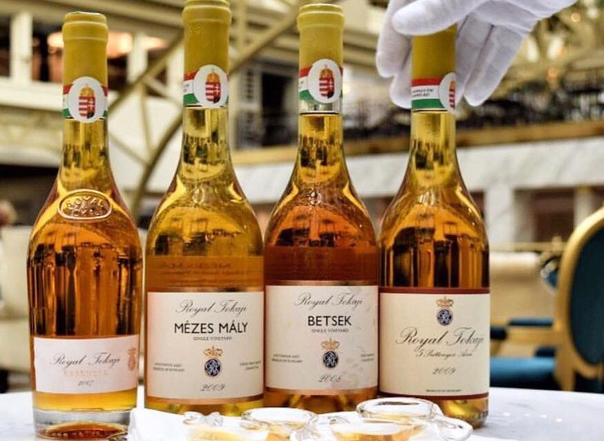Hungarian wine in the most expensive cocktail served at Trump International Hotel