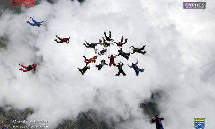 Hungarian women are part of a new skydiving world record