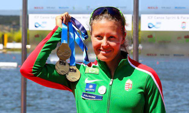 Great Hungarian success at the Kayak-Canoe World Championships 2018