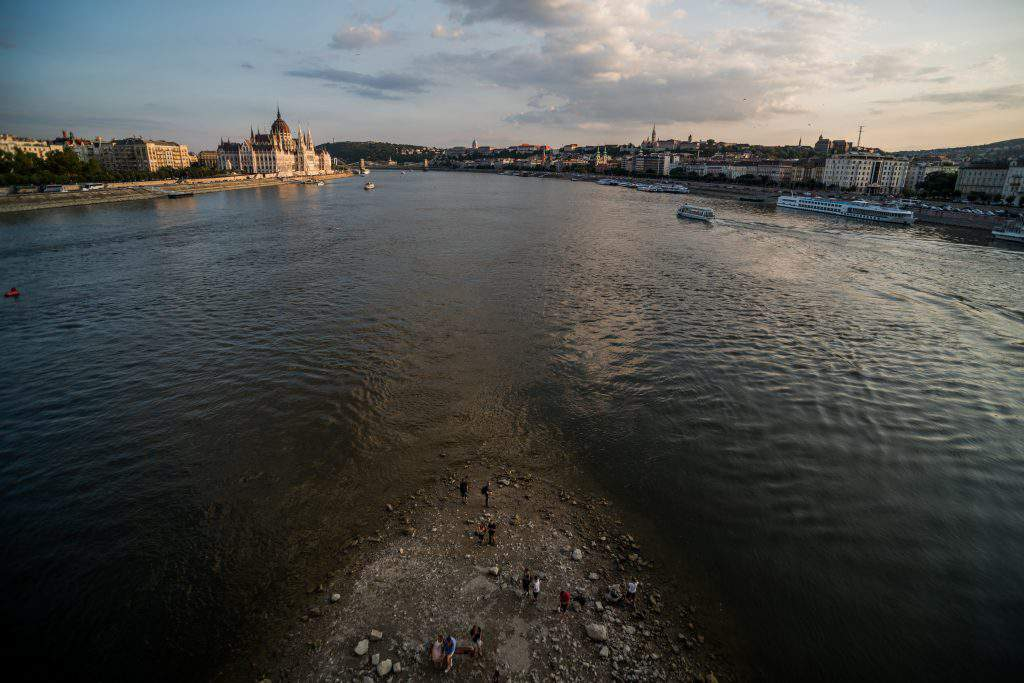 Budapest Danube lowest level