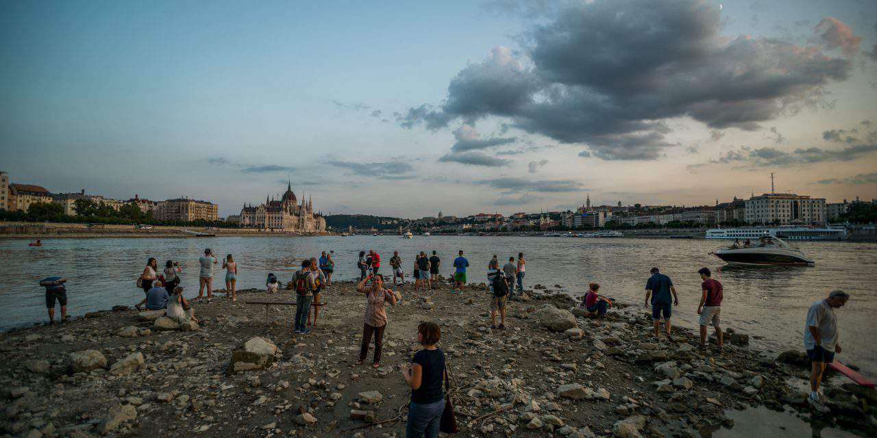 Lowest water levels recorded at several points on Danube! – PHOTO GALLERY