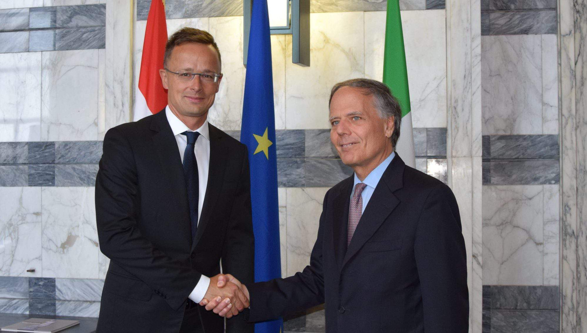 rome Hungary Italy foreign minister
