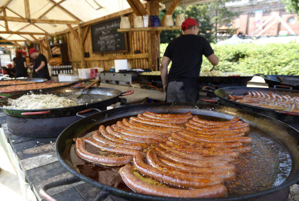 Budapest, Hungary - Street of Hungarian Flavours gastronomy festival, photo: MTI