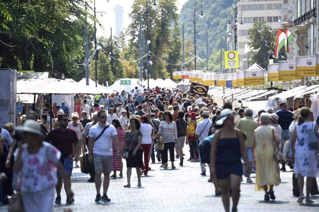 Street of Hungarian Flavours gastronomy festival