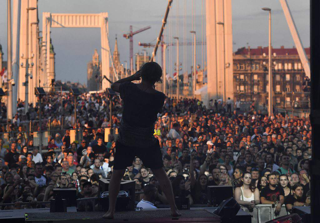 Concerts at the Danube bank, photo: MTI