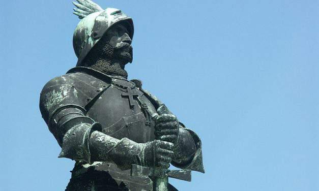 A portrait of János Hunyadi, the man who saved Europe