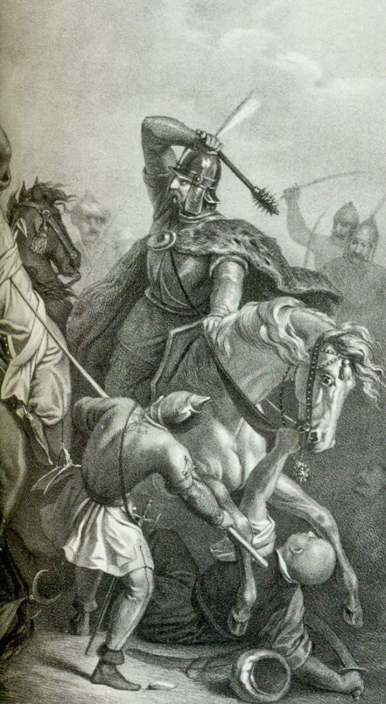 János_Hunyadi_in_the_battle_of_Varna