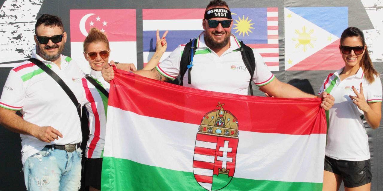 Hungarians who cross the world for a hard physical challenge – Spartan Race in Thailand