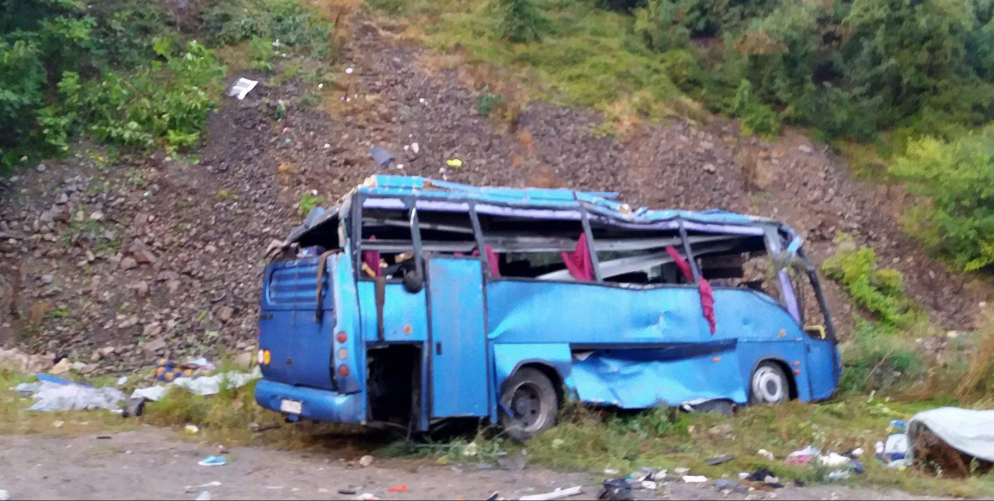 Bulgaria bus crash