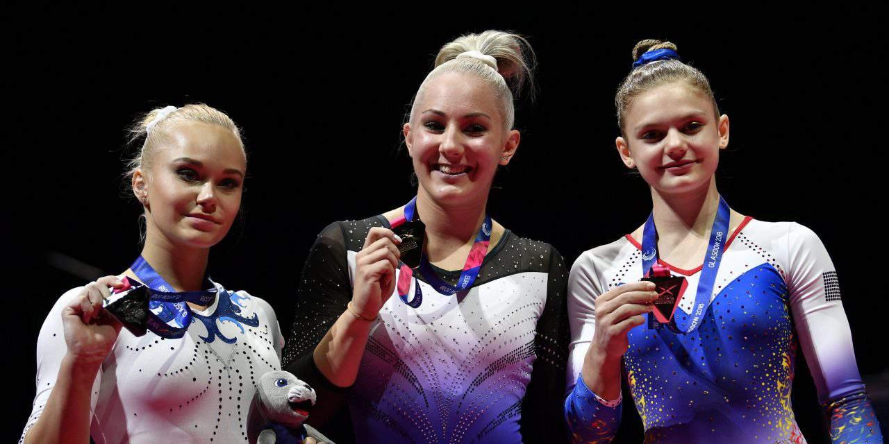 18-year-old Boglárka Dévai wins historic gold medal at the European Gymnastics Championship!