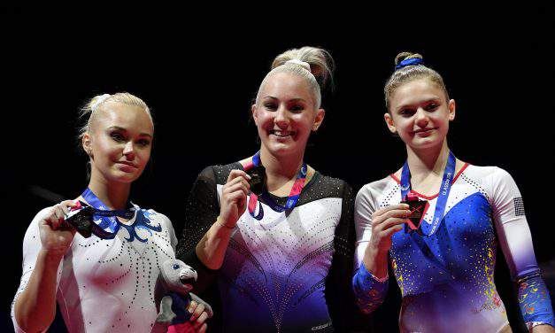 18-year-old Boglárka Dévai wins historic gold medal at the European Gymnastics Championship!