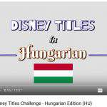 disney hungarian movie title