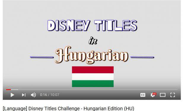Can you guess the Hungarian Disney movie titles? – VIDEO