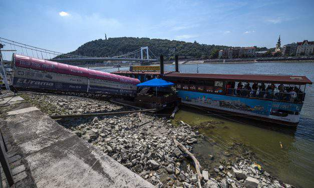 Low water levels cut Danube freight capacity by two-thirds