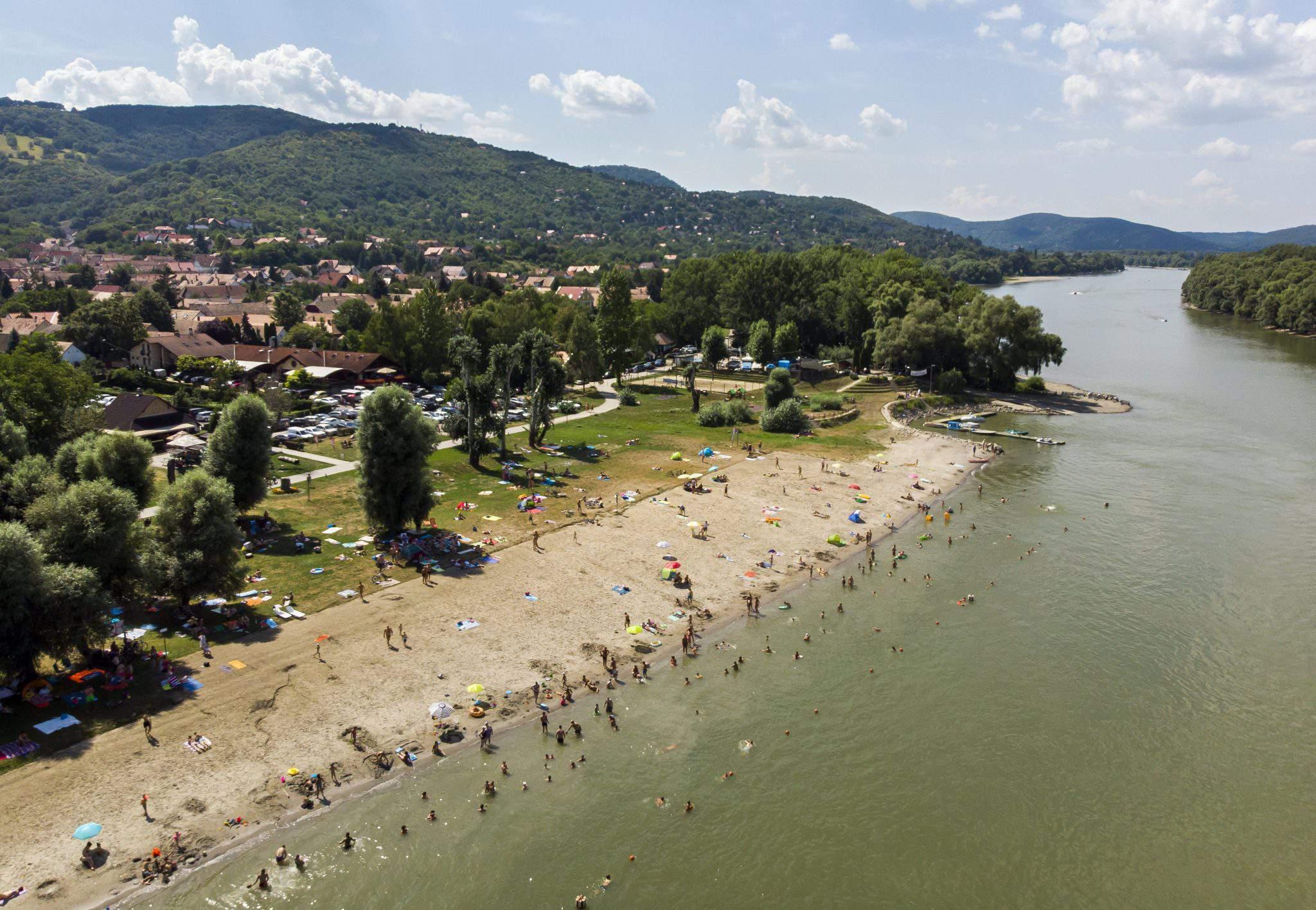 Danube summer river