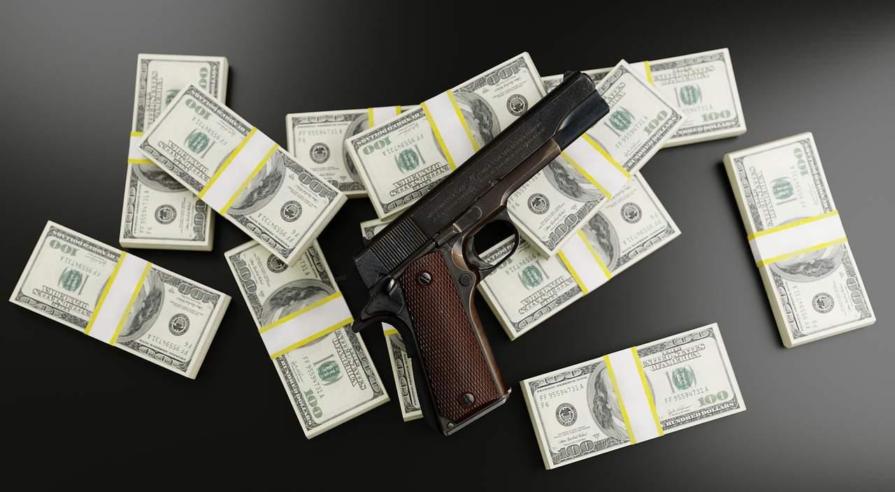 mafia money gun