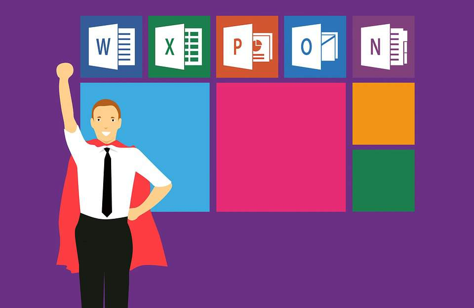 microsoft office, word, excel