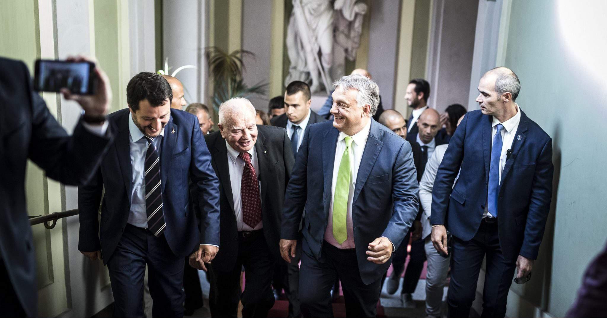 Orbán Milan Italy