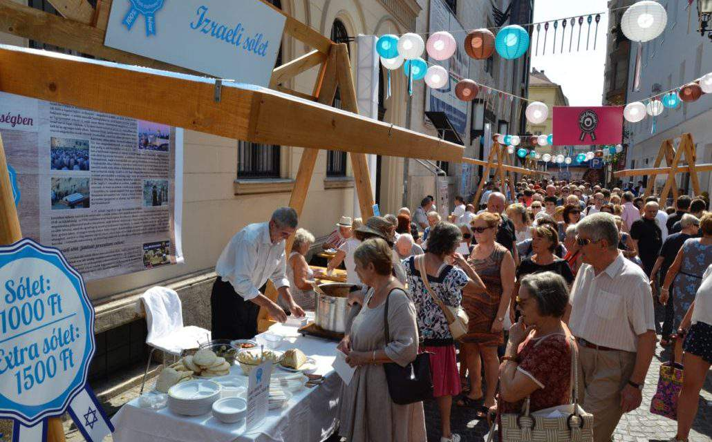 26th of August: Kosher Festival in downtown Budapest