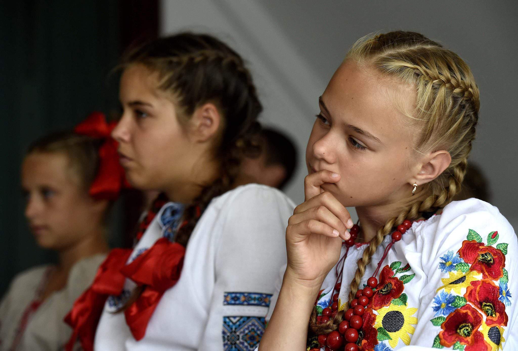 Ukrainian kids summer camp