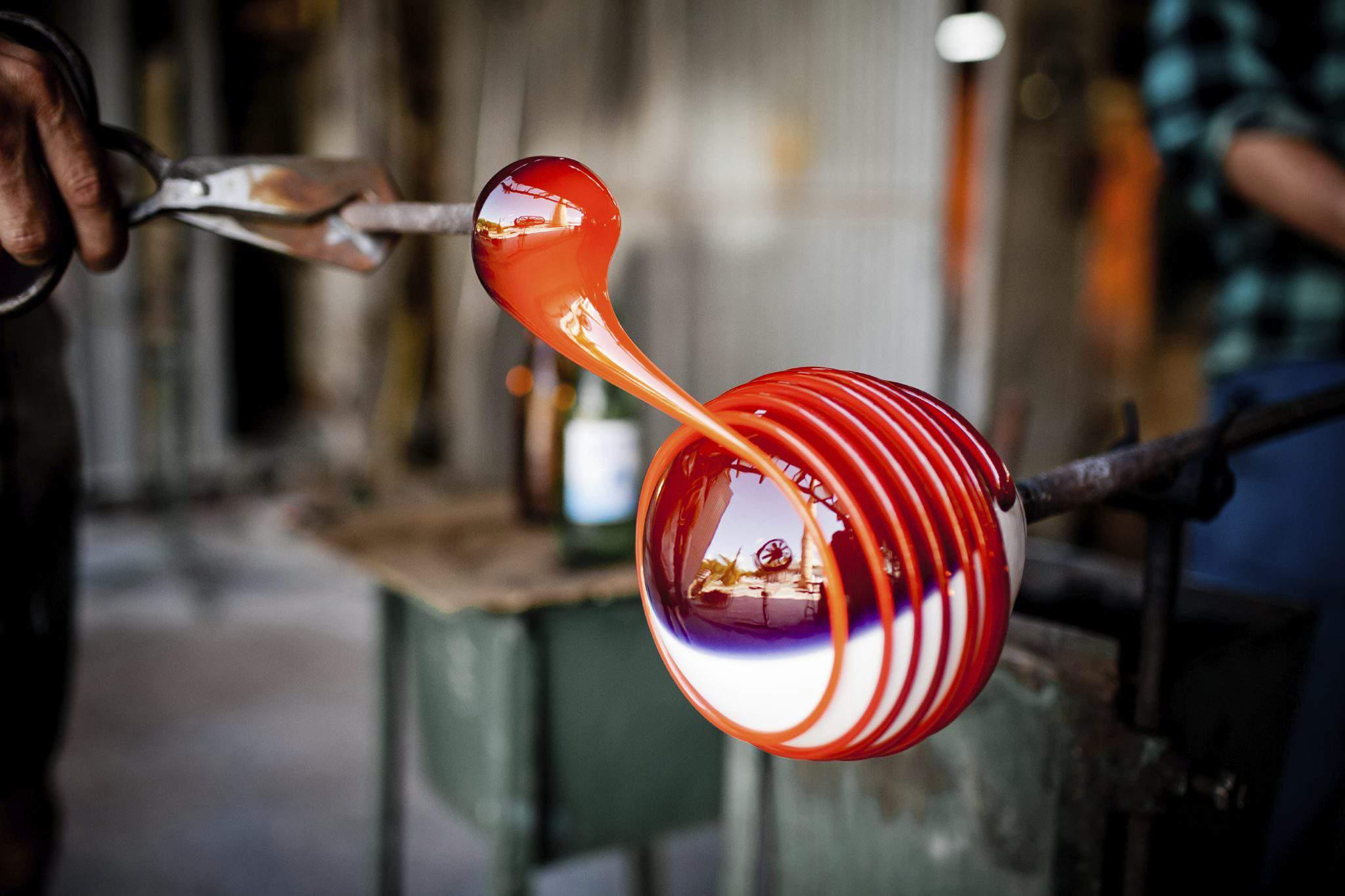 glass blowing Hungary