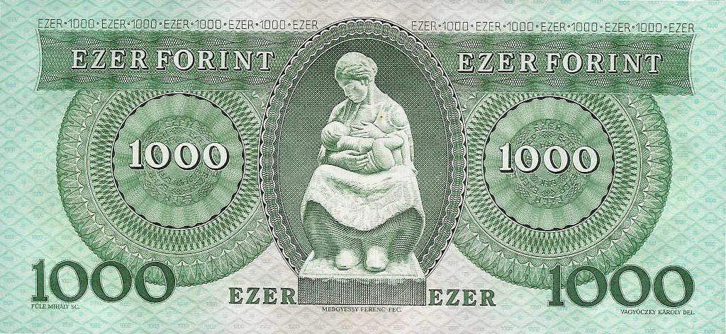 forint, old banknote