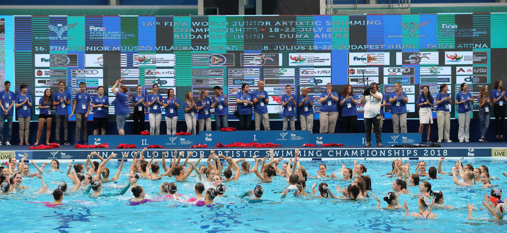 synchronized swimming world cup