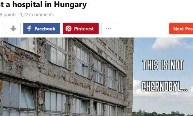 The whole internet outraged by a Hungarian hospital