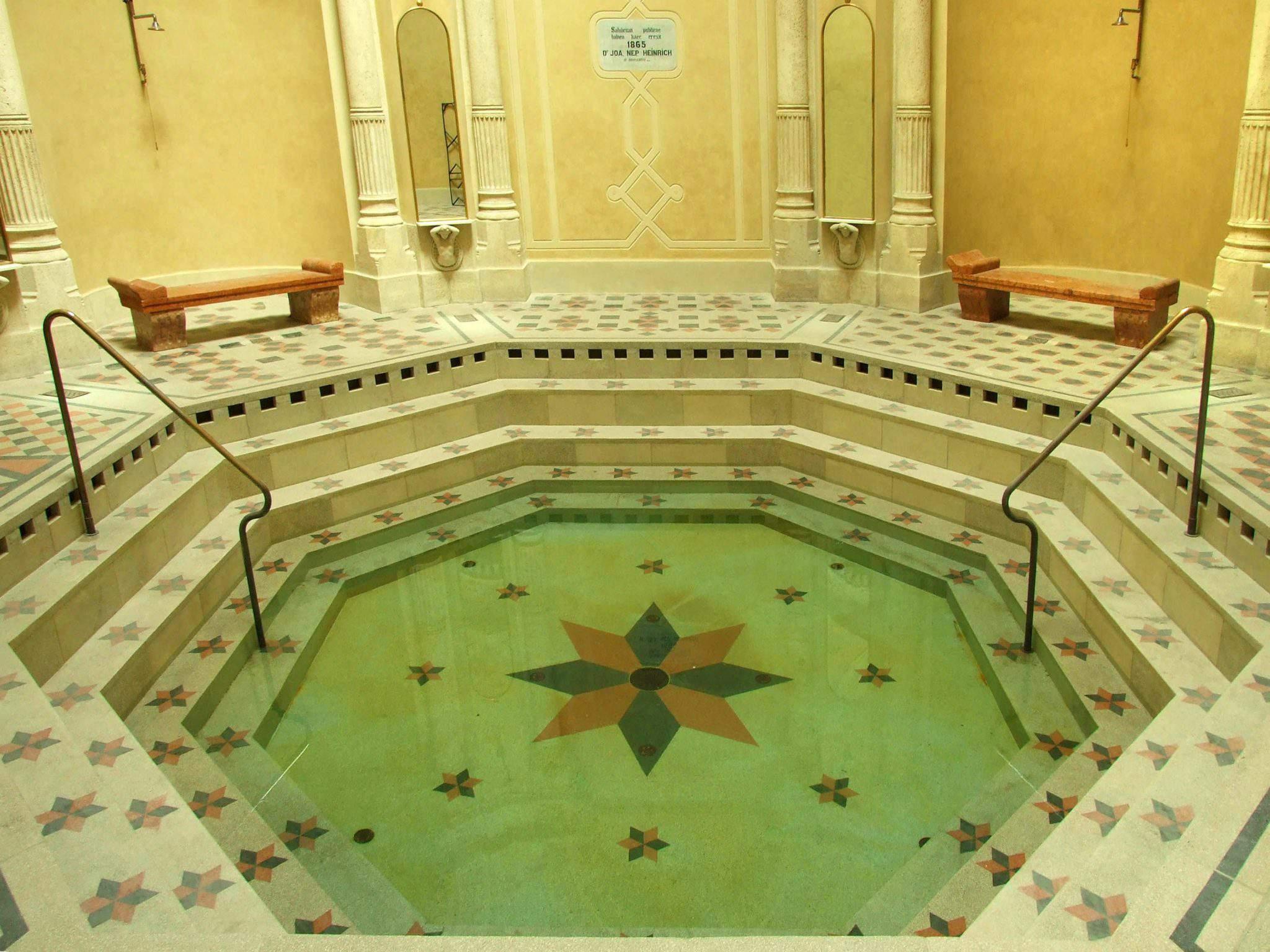 Rác baths Budapest