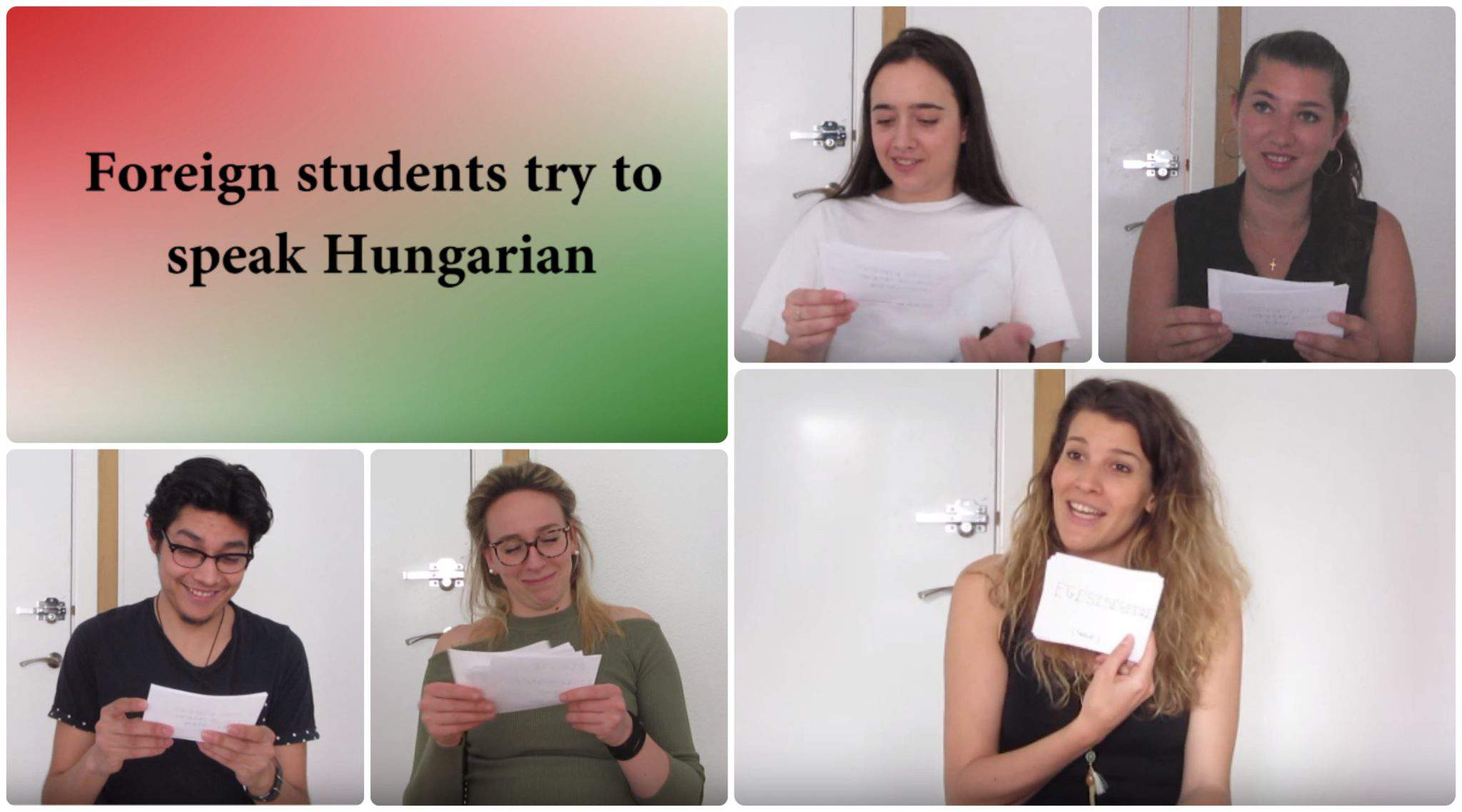 foreign students speak Hungarian