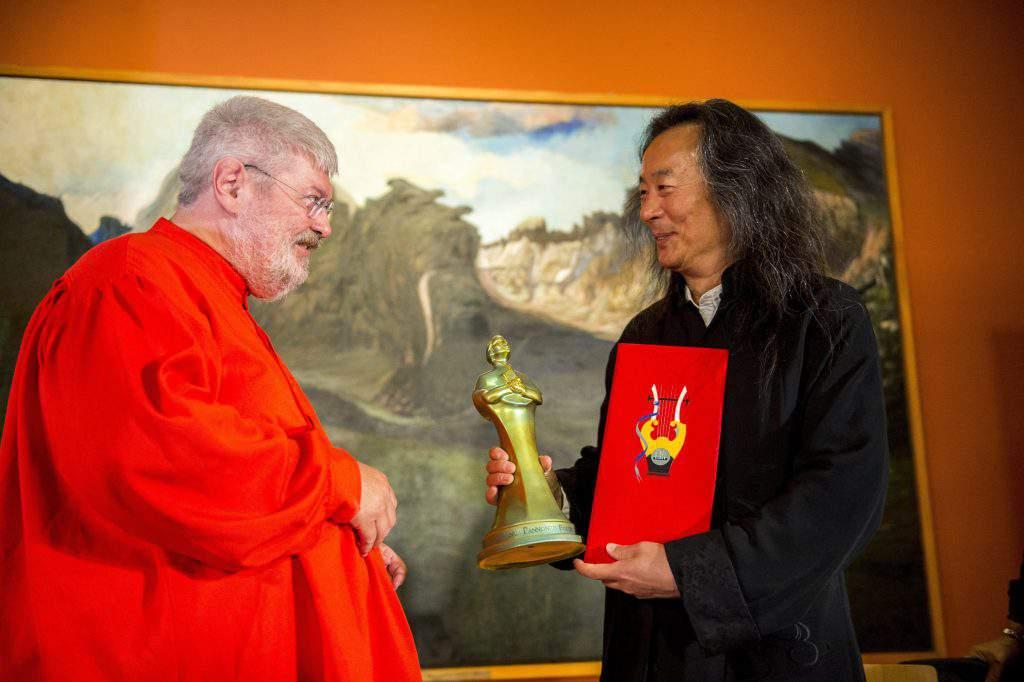 Géza Szőcs and Yang Lian