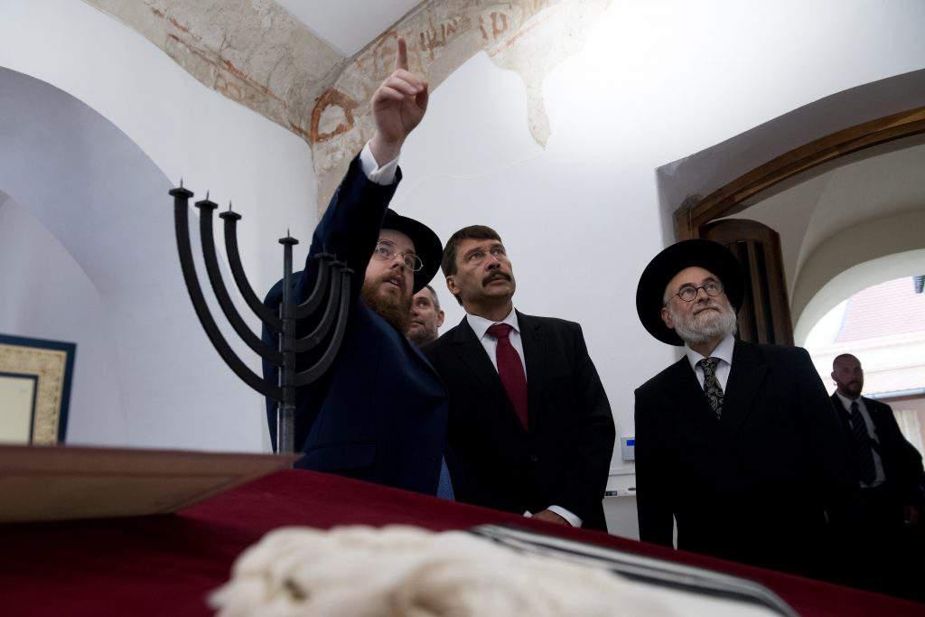Slomó Köves, chief rabbi of the Unified Hungarian Jewish Congregation (EMIH)
