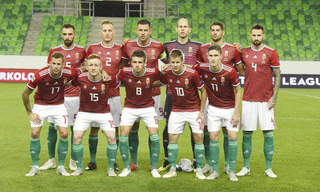 Hungary's men move up two places in FIFA rankings