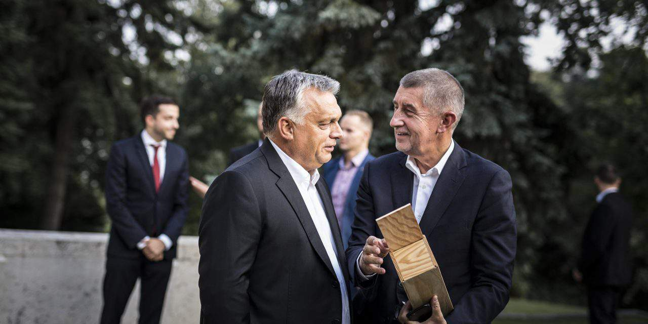 Orbán meets Czech PM Babis in Budapest