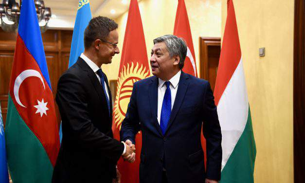 Kyrgyzstan's development in Hungary's interest, says Hungarian foreign minister
