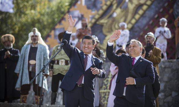 PM Orbán is the first Hungarian prime minister in Kyrgyzstan
