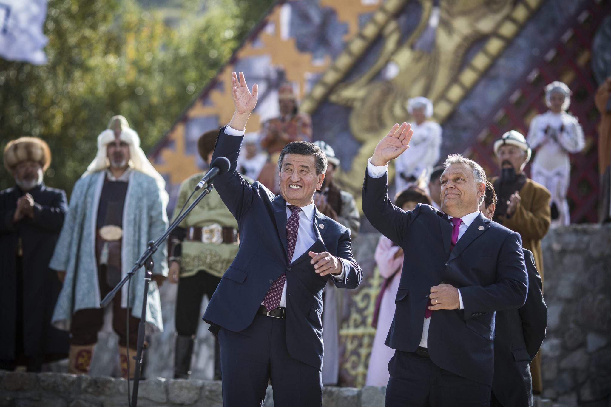 Orban in Kyrgyzstan