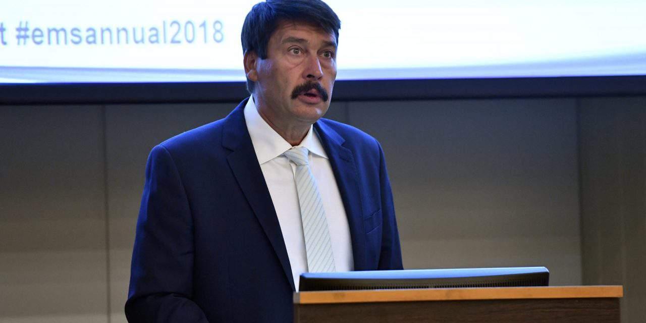 Hungarian President Áder: Climate change threatening future of civilisation
