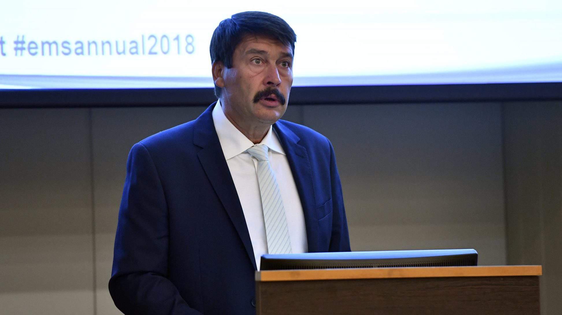 President Áder Hungary