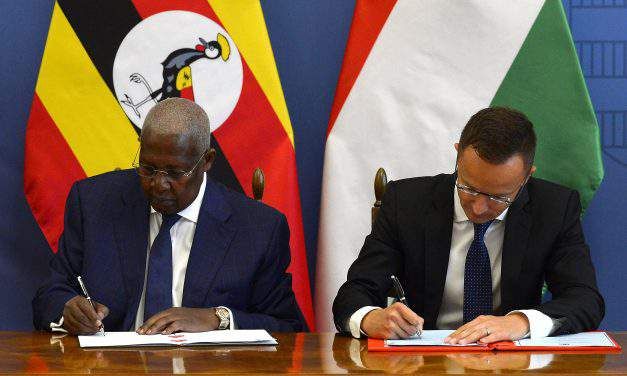 Hungarian foreign minister discusses migration, bilateral ties with Ugandan counterpart