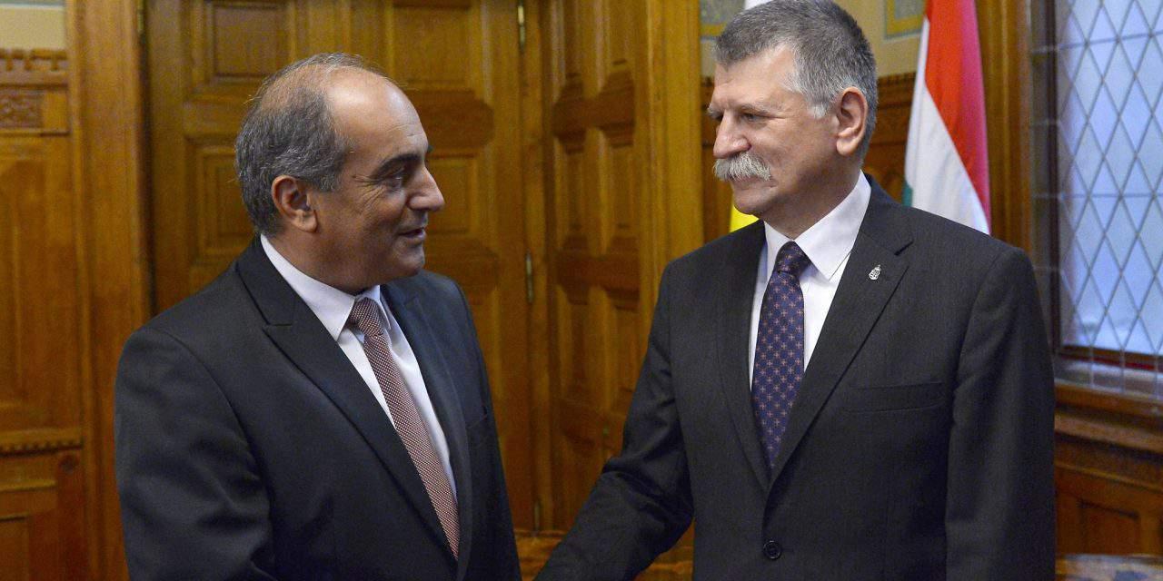 Parliament speaker praises Hungary, Cyprus ties