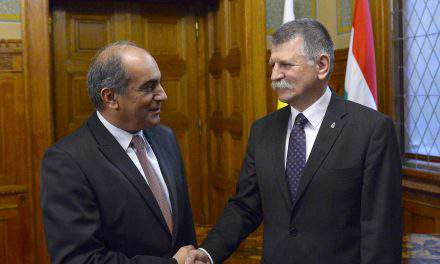 Parliament speaker praises Hungary, Cyprus ties