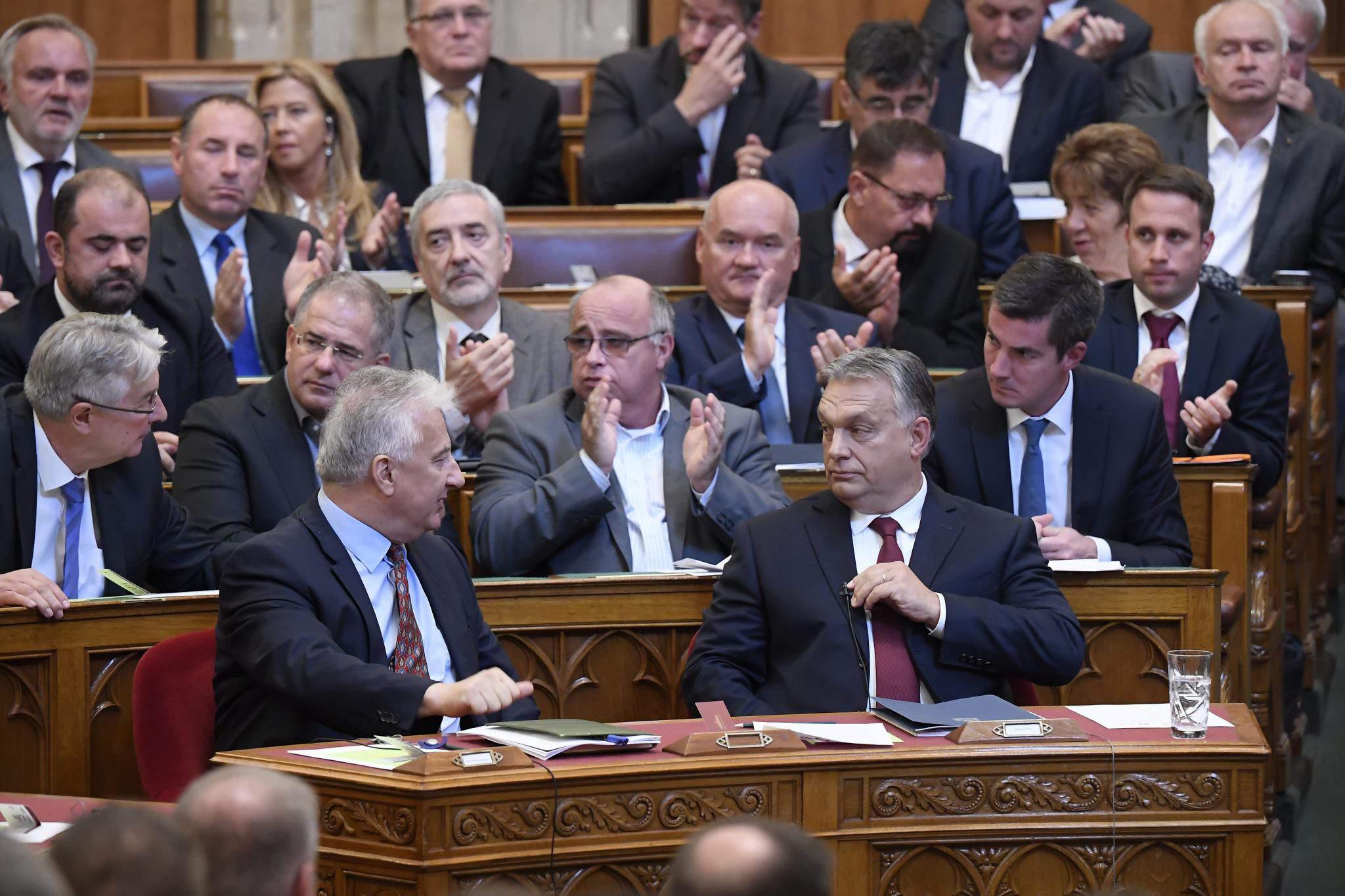 Fidesz in parliament