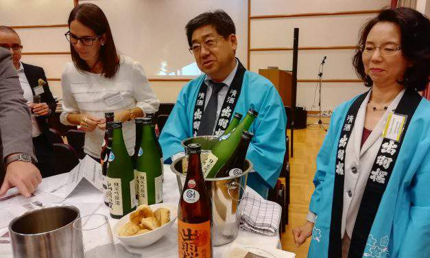 The 10 most renowned Japanese Sake producers visited Hungary