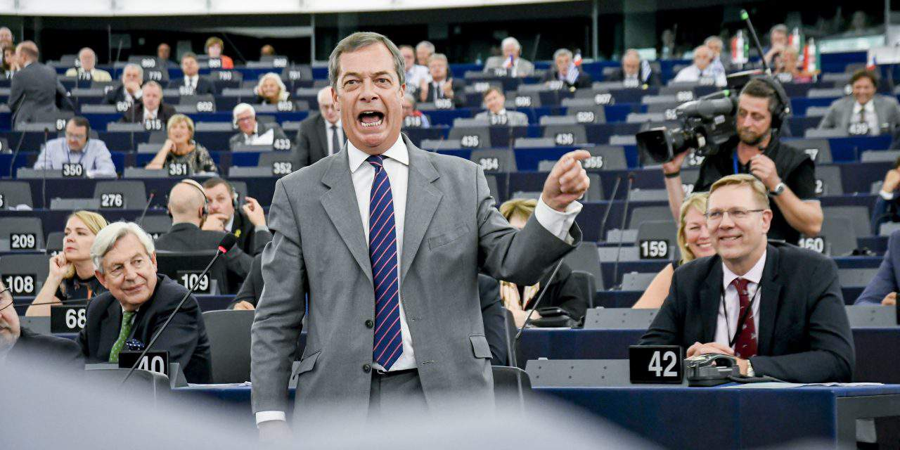 EP vote against Hungary 'massive power grab', says Farage