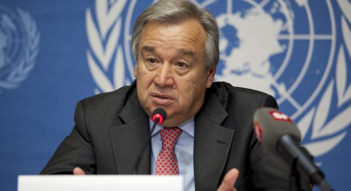 antonio guterres human rights united nations