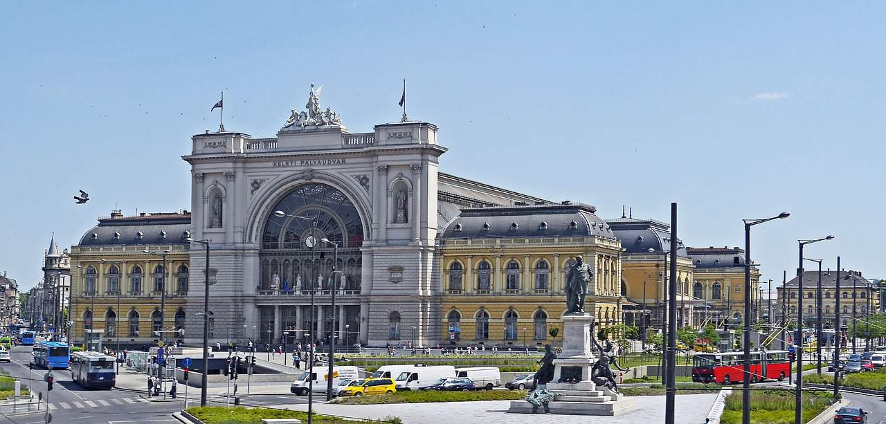 Budapest, Keleti, railway, station, Hungary