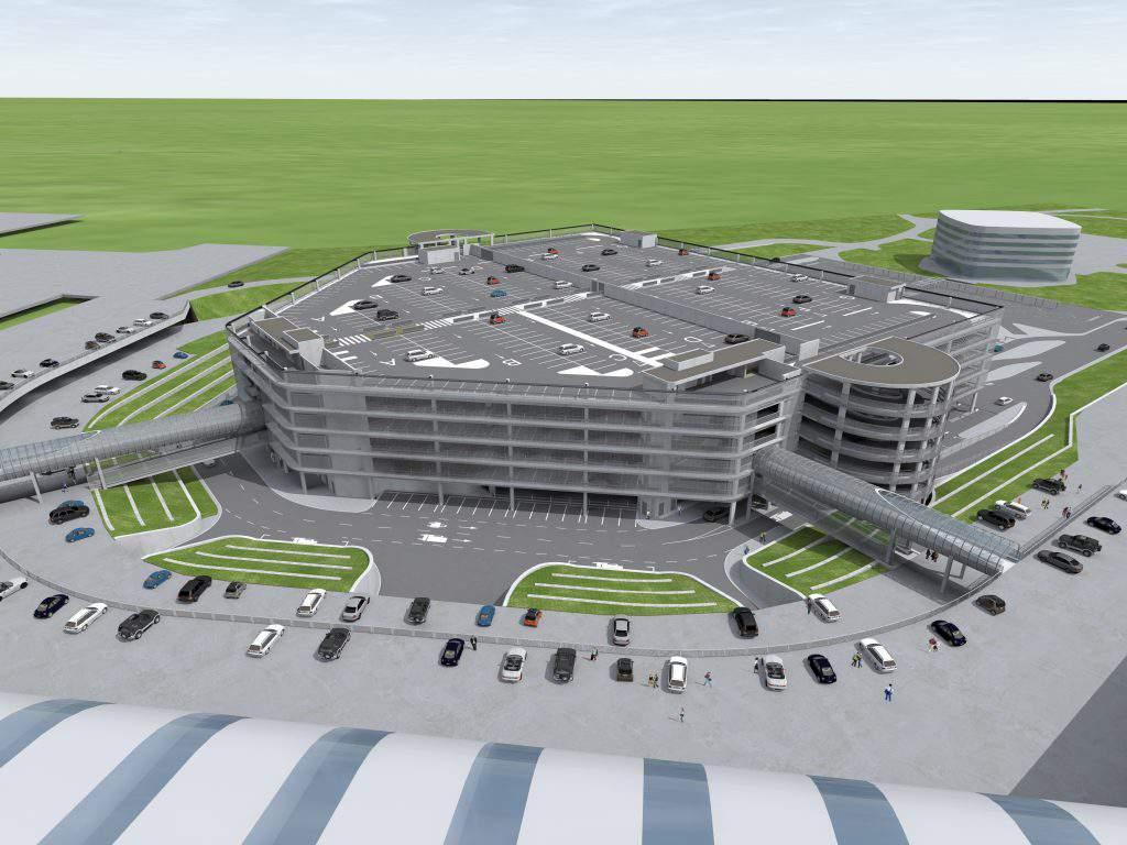 car park Budapest airport