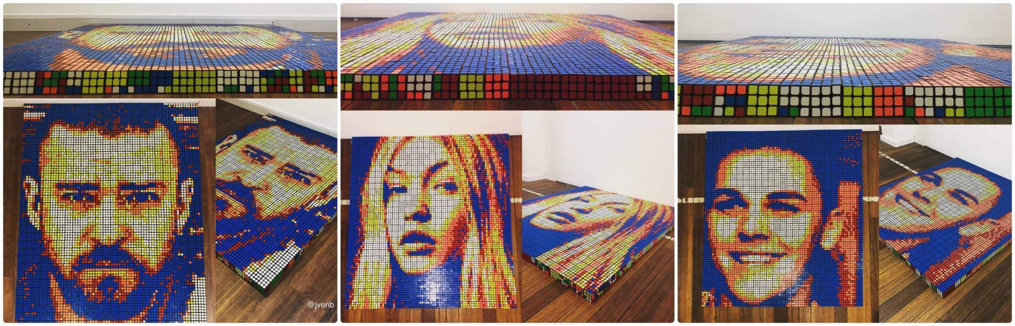 Rubik's Cube artist