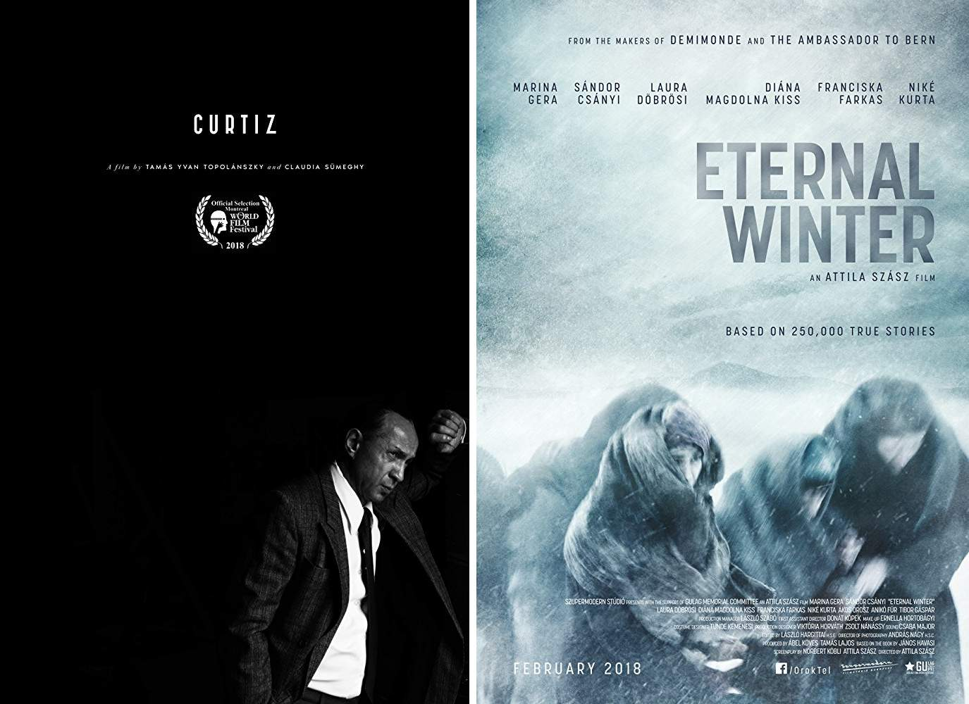 Curtiz, Eternal Winter (Örök Tél), Montreal film festival